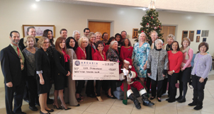 EC2015 $25,0000 Donation Check