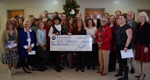 EC2016 $23,0000 Donation Check